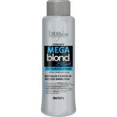 Máscara Matizadora Mega Blond Black Forever Liss 500ml