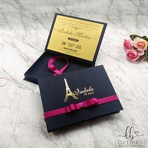 Convite 15 anos - Paris