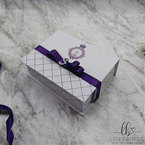 Caixa Convite 15 anos 16x12x4 - Coleção Bailarina