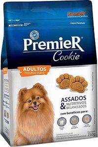 Biscoito Premier Pet Cookie para Cães Adultos Pequeno Porte 250g