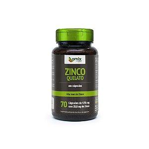 Zinco Quelato - 70 cápsulas