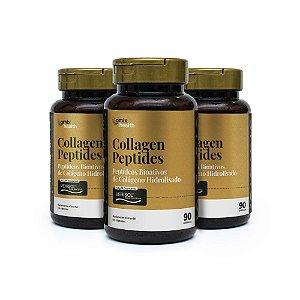 Kit 3x Collagen Peptides - Verisol® - 90 cápsulas