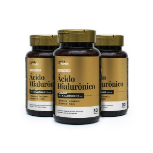 Kit 3x Ácido Hialurônico - 30 cápsulas