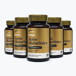 Kit 5x Ácido Hialurônico - 30 cápsulas