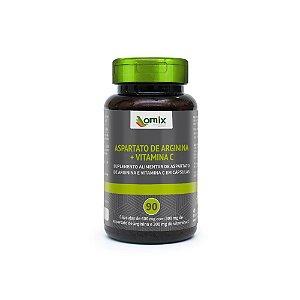 Arginina e Vitamina C - 90 cápsulas
