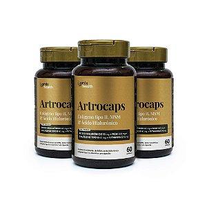 Kit 3x Artrocaps - 60 cápsulas