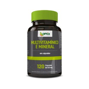Multivitamínico e mineral - 120 cápsulas