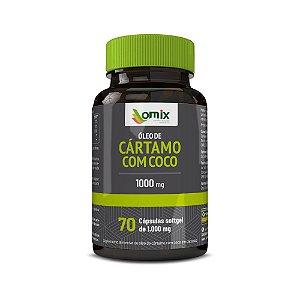 Óleo de Cártamo + Coco (1 g) - 70 cápsulas