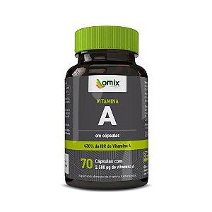 Vitamina A - 70 cápsulas