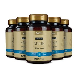 Kit 5x Sene (Fan Xie Ye) - 100 cápsulas