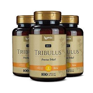 Kit 3x Tribulus (Ji Li) - 100 cápsulas