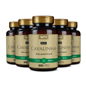 Kit 5x Cavalinha (Mu Zei) - 100 cápsulas