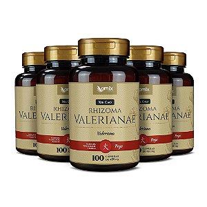 Kit 5x Valeriana (Xie Cao) - 100 cápsulas
