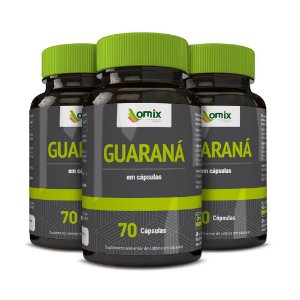Kit 3x Guaraná - 70 cápsulas