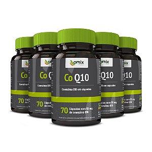 Kit 5x Coenzima Q10 - 70 cápsulas