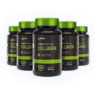Kit 5x Collagen - 100 cápsulas