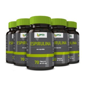 Kit 5x Espirulina