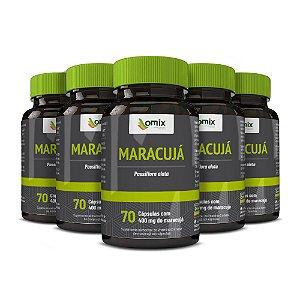 Kit 5x Maracujá - 70 cápsulas