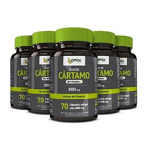 Kit 5x Óleo de Cártamo c/ Vitamina E