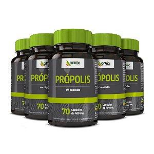 Kit 5x Própolis - 70 cápsulas