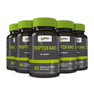 Kit 5x Triptofano - 90 cápsulas