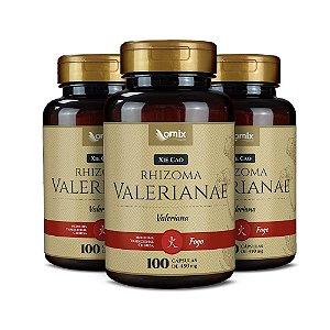 Kit 3x Valeriana (Xie Cao) - 100 cápsulas