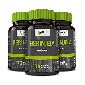Kit 3x Berinjela - 70 cápsulas