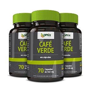 Kit 3x Café verde - 70 cápsulas