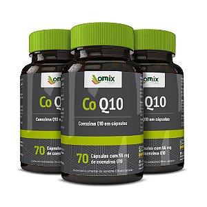Kit 3x Coenzima Q10 - 70 cápsulas