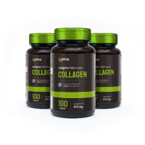 Kit 3x Collagen - 100 cápsulas