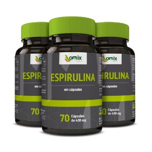Kit 3x Espirulina