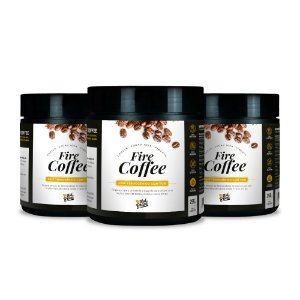 Kit 3x Fire Coffee - Natural (250 g)