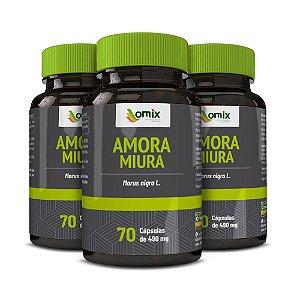 Kit 3x Amora Miura - 70 cápsulas