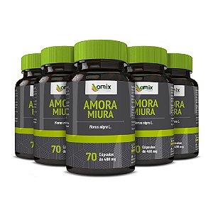 Kit 5x Amora Miura - 70 cápsulas