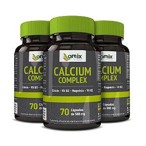 Kit 3x Calcium Complex - 70 cápsulas