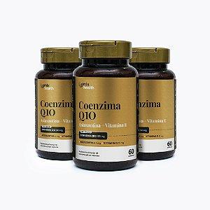Kit 3x Coenzima Q10 - 60 cápsulas