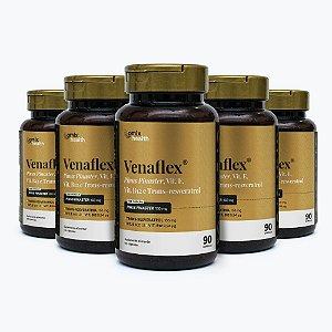 Kit 5x Venaflex - 90 cápsulas