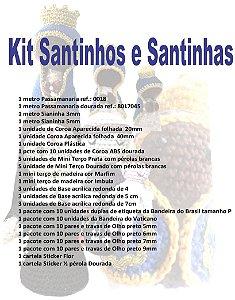 Kit Santinhos e Santinhas - (37 ítens)