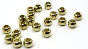 Entremeio - Passante - Terere - Tamanho 10 mm - Cores: Ouro velho, Prata ou Dourado - (Pacote com 50 unidades)