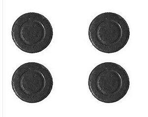 Imã (Ferrite)  moedinha - média 20x30mm - Pacote com 5 unidades