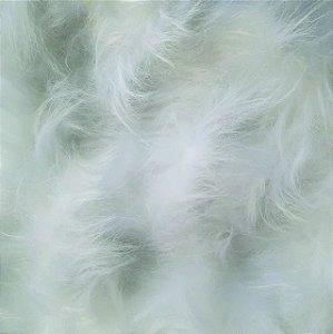 Pelúcia para Foto - Pelo Longo 120 mm - Tamanho: 50 X 50 cm - Cor: Branca
