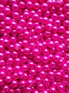 Pérolas - Tamanho 10mm - Cores: Azul Neon ou Rosa - Pacote com 20 gramas