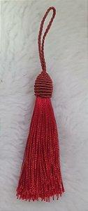 Tassel - Pingente Pompom com Tulipa - 9cm *Marsalla* (venda por unidade)