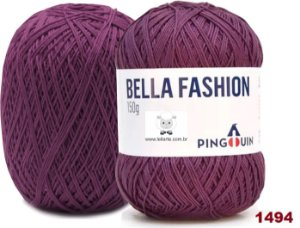 Bella Fashion , 100g, 1494 - Orquídea Escura - TEX 295