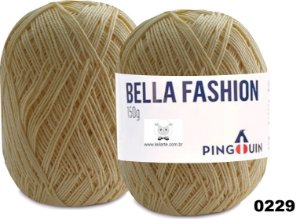 Bella Fashion , 150g, 0229 - Yellow- TEX 295