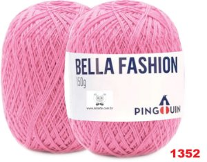 Bella Fashion , 150g,  1352 - Rosa Barbie - TEX 295