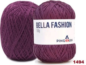 Bella Fashion , 150g, 1494 - Orquídea Escura - TEX 295