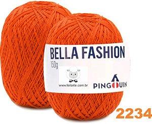 Bella Fashion , 150g, 2234 - Jerimum - Laranja Queimada  - TEX 295