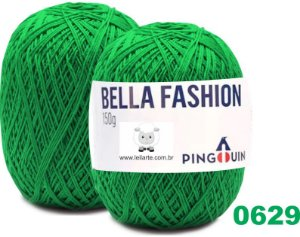 Bella Fashion , 150g, 0629 - Samambaia - Verde  - TEX 295