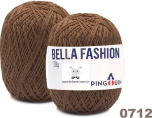 Bella Fashion , 150g, 0712 - Capuccino Marrom - TEX 295